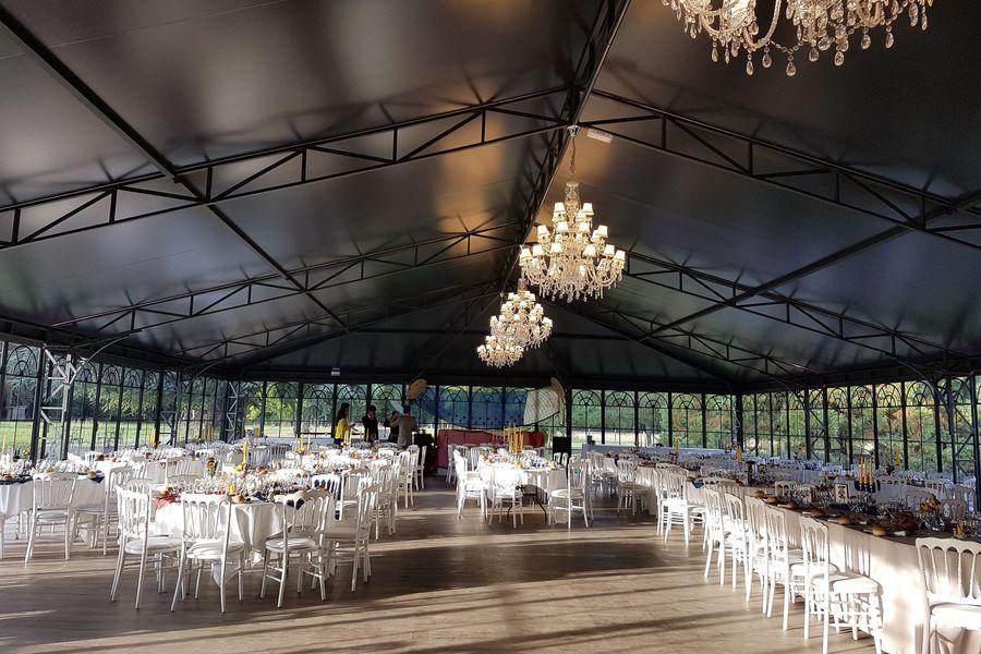 Château du Blanc Buisson Le Palais de verre intérieur