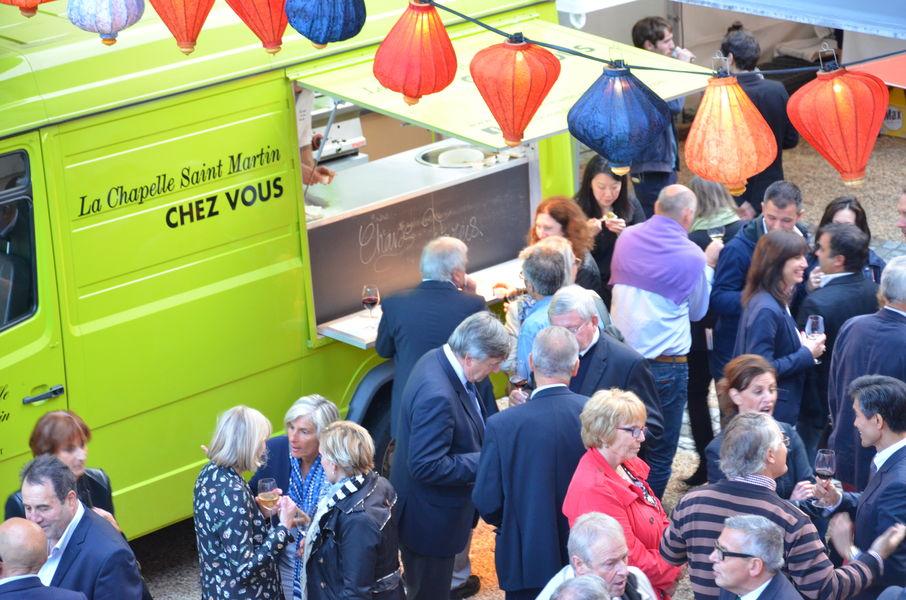 Relais Chateaux La Chapelle Saint Martin **** Foodtruck Garden party