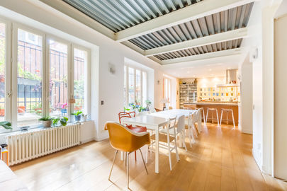 Loft cosy et lumineux d'Alain et sa terrasse