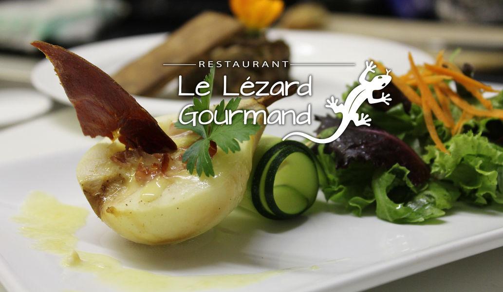 La Bastide d'Eygalières Notre restaurant Le Lézard Gourmand