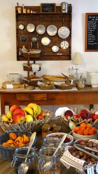 La Bastide d'Eygalières Buffet de petit-déjeuner