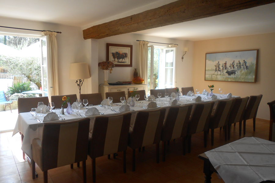 La Bastide d'Eygalières Banquet