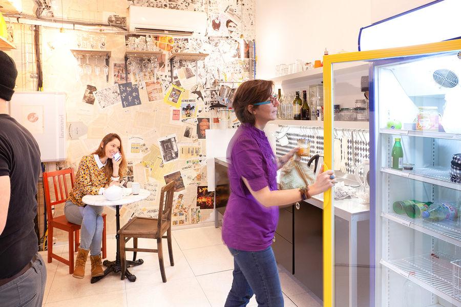 Studios Singuliers Cuisine de l'espace de coworking