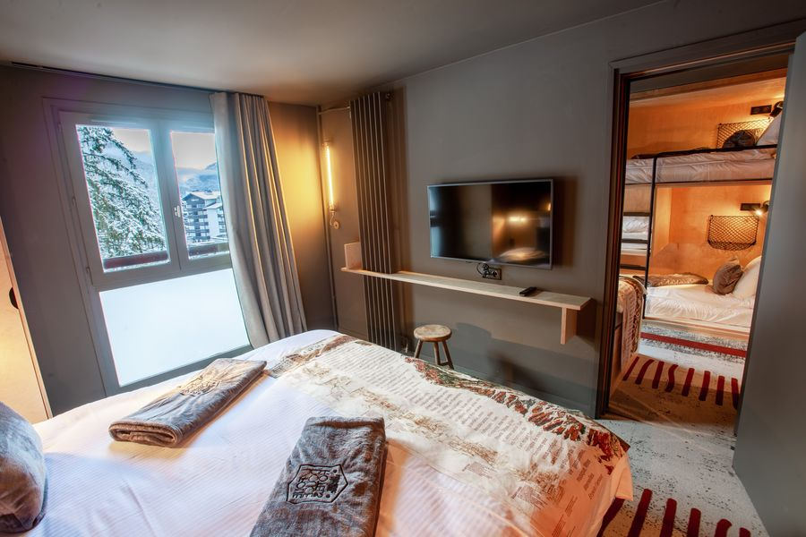 La Folie Douce Hotels Chamonix - Mont-Blanc Access Room Family