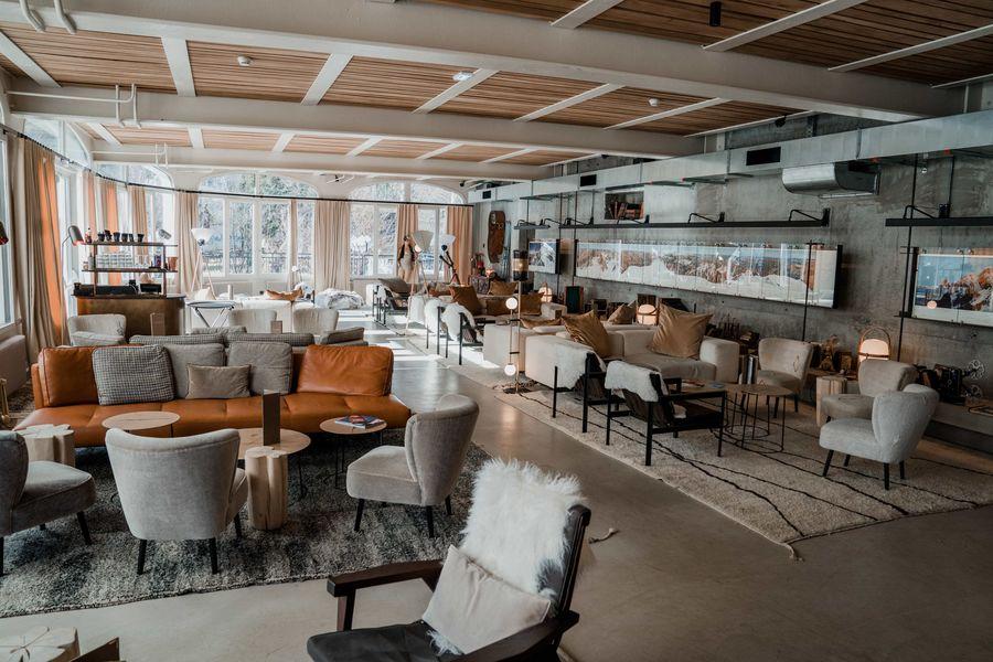 La Folie Douce Hotels Chamonix - Mont-Blanc Le Lobby