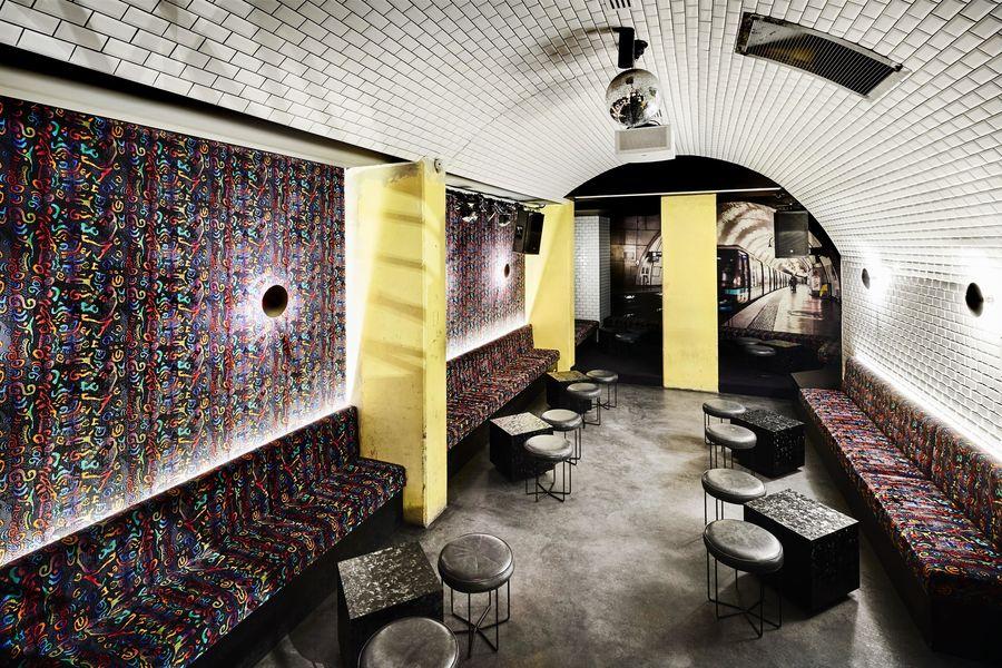 Generator Hostel Paris Club: 2ème niveau - Piste de danse