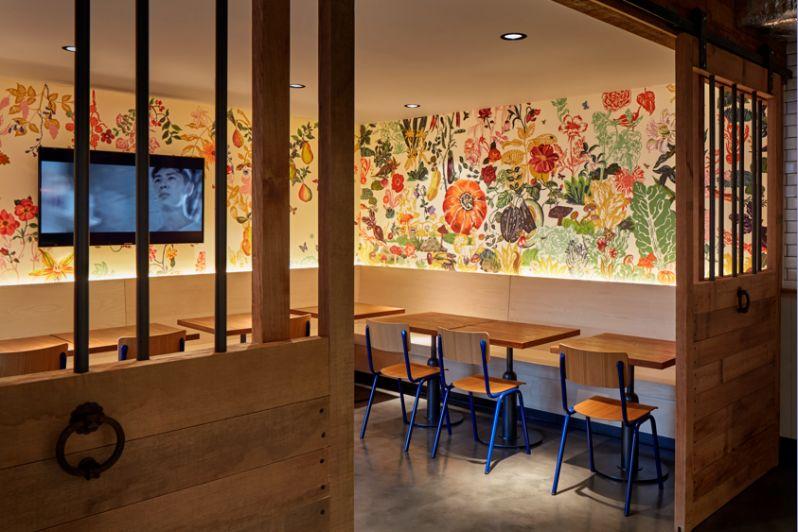 Generator Hostel Paris Café: Espace Fleuri 1