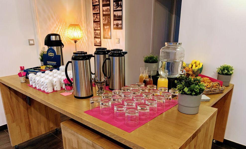 Ilot du Moulin de Mordelles Pauses cafés