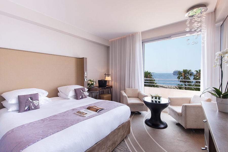 Radisson Blu 1835 Hôtel & Thalasso Cannes ***** Chambre Deluxe Vue Mer