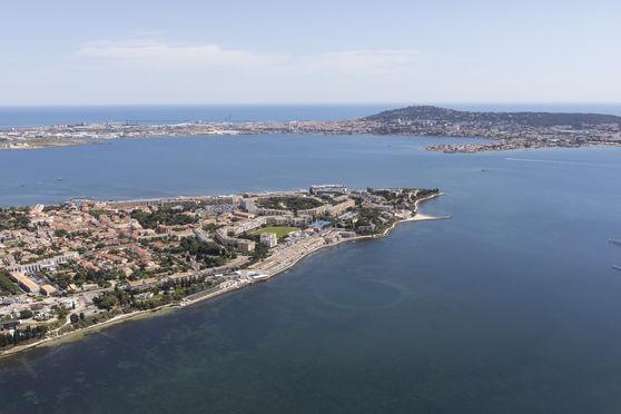 La Presqu'ïle de Balaruc, face à Sète et en lisière de l'étang de Thau