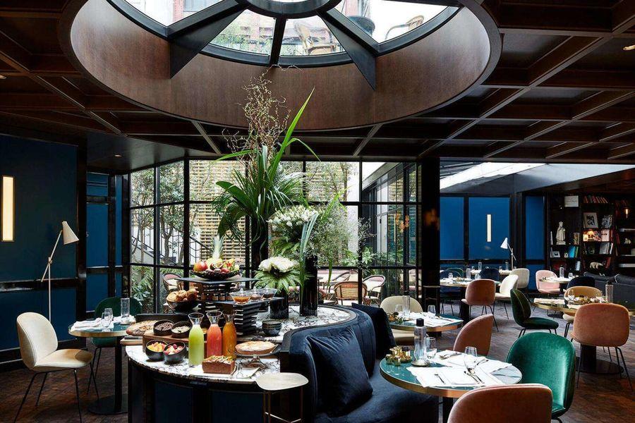 Le Roch Hôtel & Spa Le buffet