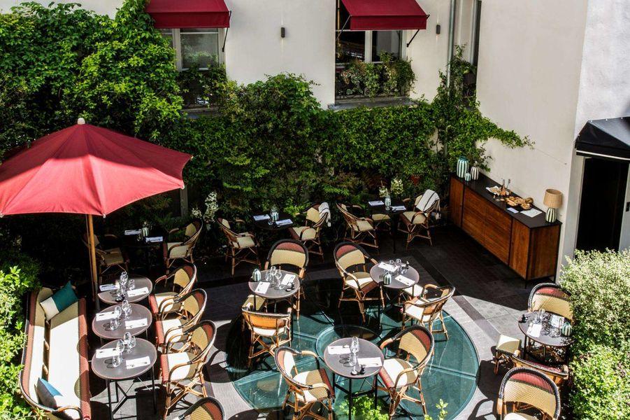 Le Roch Hôtel & Spa La terrasse