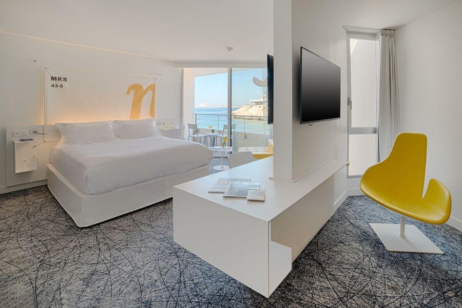 Hotel nhow Marseille **** Chambre vue mer