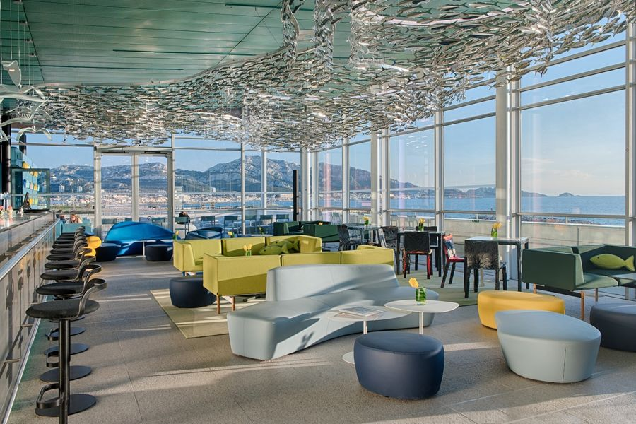 Hotel nhow Marseille **** Sky bar