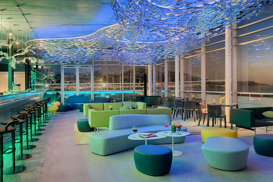 Hotel nhow Marseille **** Sky Bar Nuit