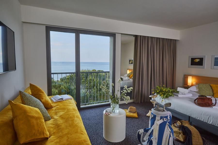 Grand Hôtel du Golfe  Chambre prestige