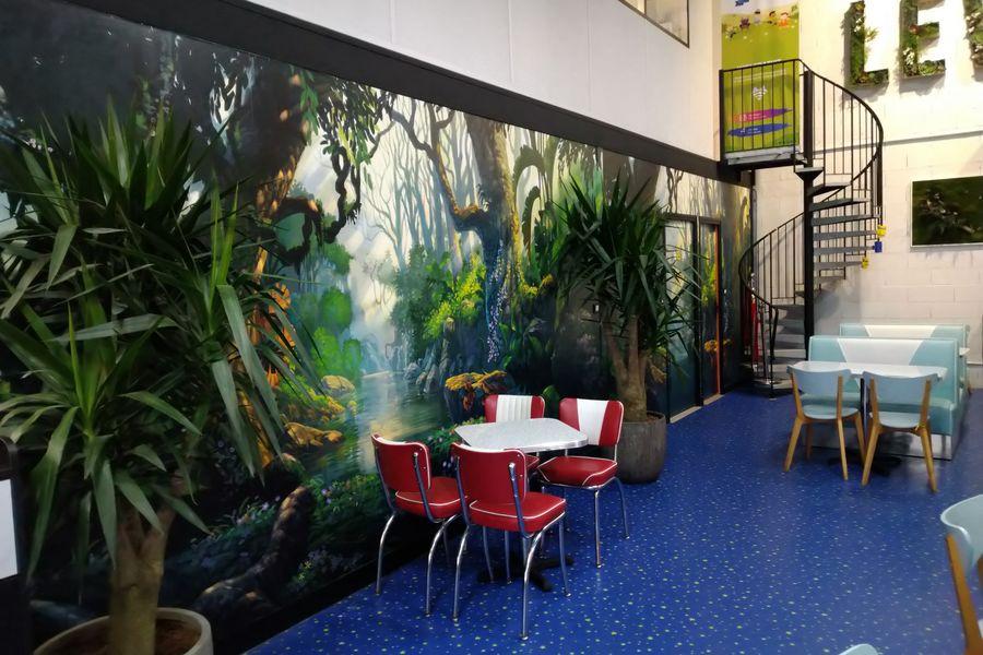 Fun Park espace cafeteria