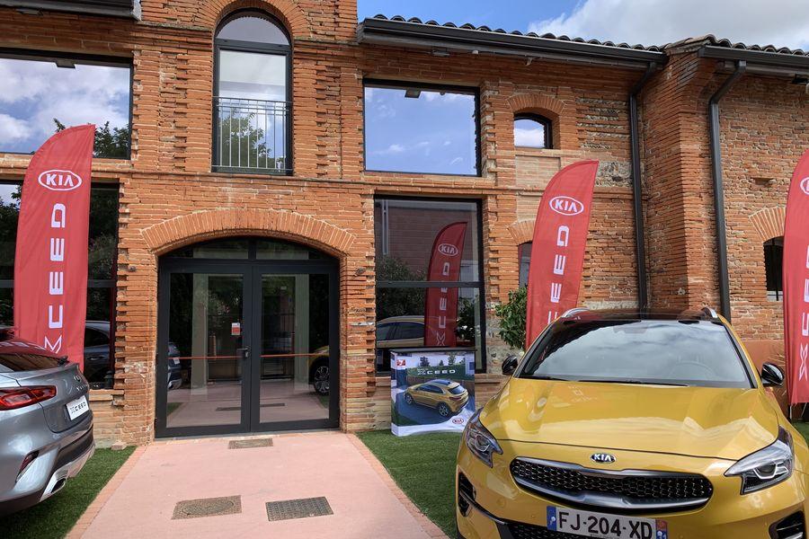 Orangerie De Labege lancement voiture