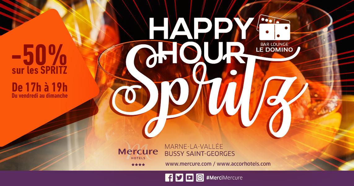 Hotel Mercure Marne la vallée Bussy St Georges Happy hour accessible à tous, possibilité de privatisé des espaces