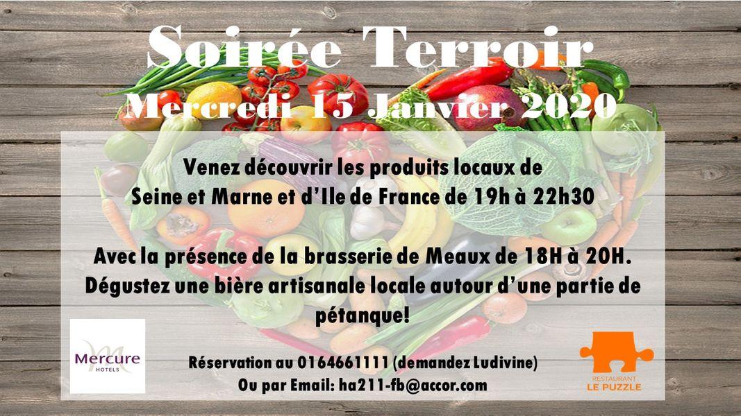 Hotel Mercure Marne la vallée Bussy St Georges Une fois par mois et sur demande expectionnelle pur vos evenements (minimum 25 personnes)