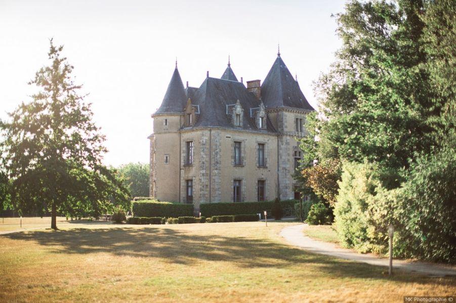 Domaine de Brandois **** château vu du prieuré