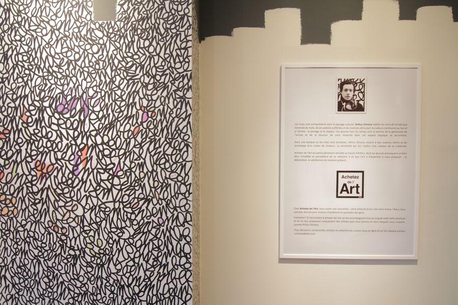 La Fabrique Générale Scénographie éphémère par le street-artiste Arthur Simony