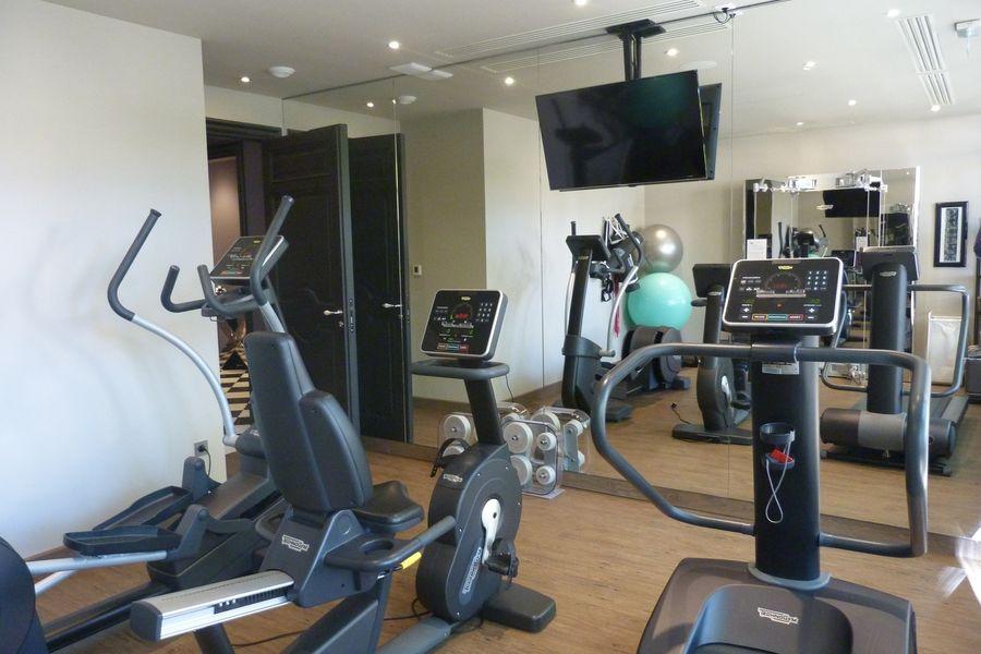 Domaine de Manville ***** Salle de fitness