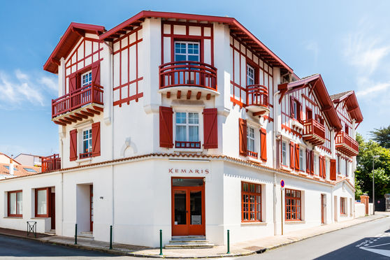 Façade bâtiment historique