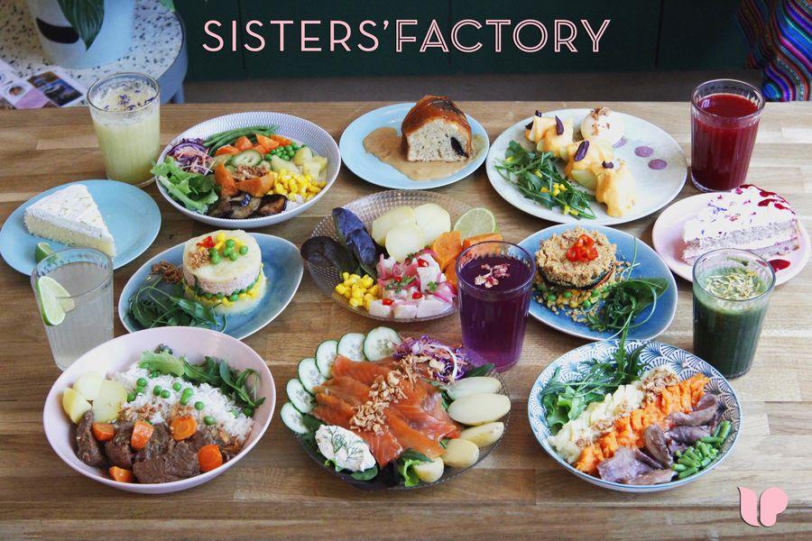 Sisters' Factory notre carte en image