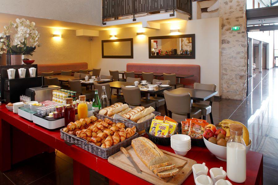 Hôtel Les Herbes Folles **** Petit-déjeuner