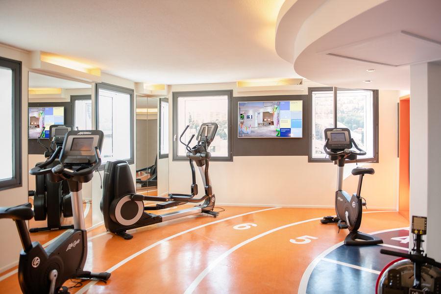 Novotel Lyon Gerland Musée des Confluences **** Salle de fitness