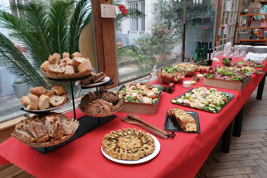 Atelier Fil Rouge  Buffet Tradition