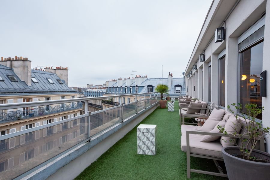 Morning Coworking Monceau Morning Coffee + Rooftop
