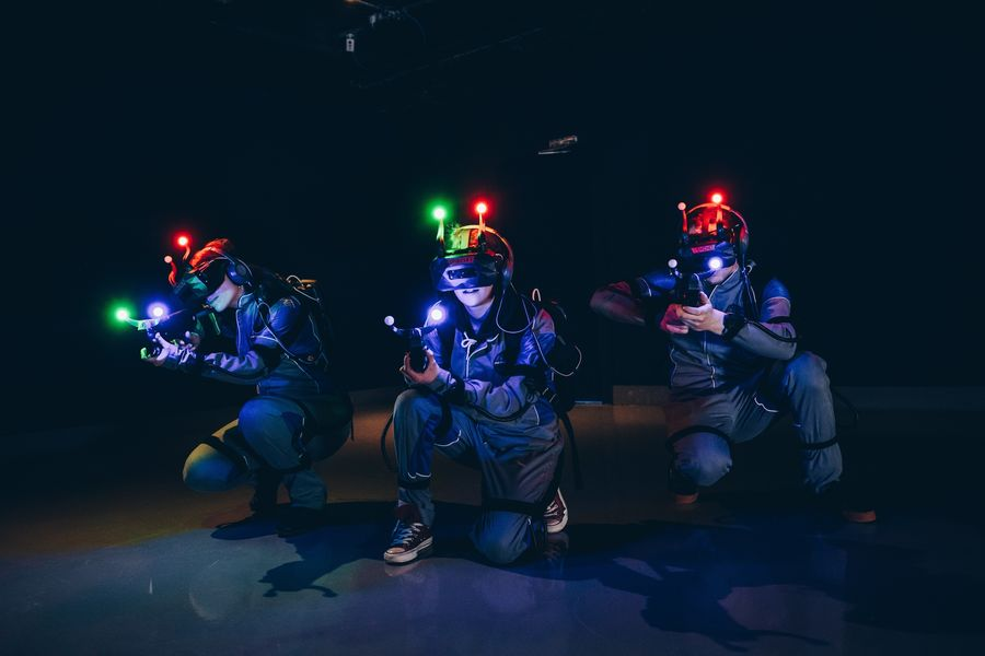 Aerokart Virtual Laser : Laser Game en réalité virtuelle