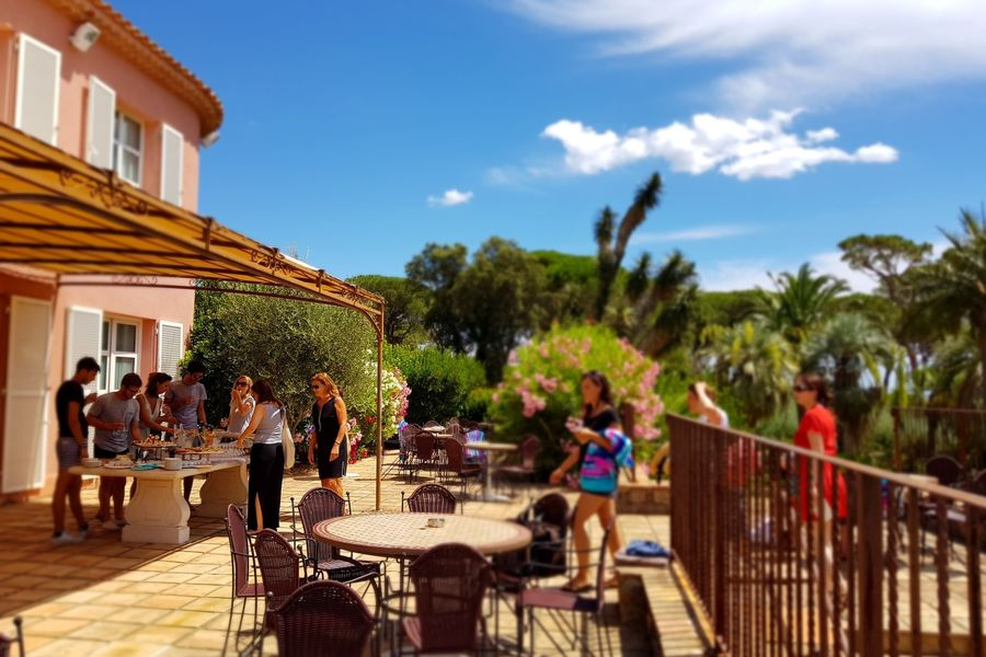Hôtel Les Jardins de Sainte Maxime *** Cocktail déjeunatoire