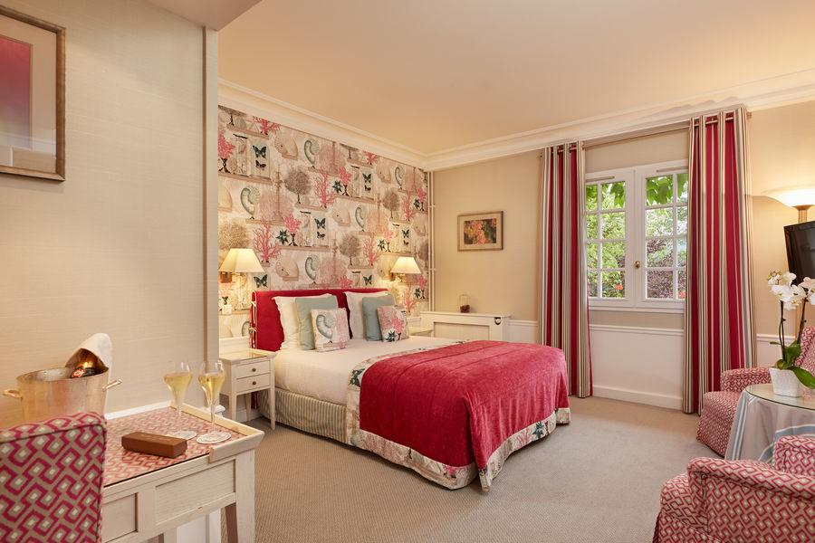 Hostellerie La Briqueterie ***** chambre deluxe