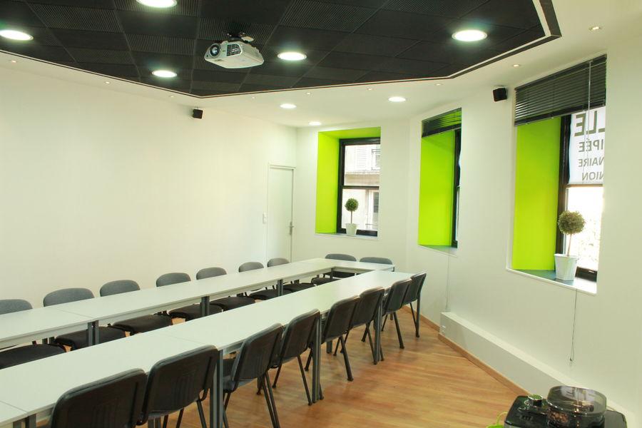 Salle Miro salle lumineuse naturellement