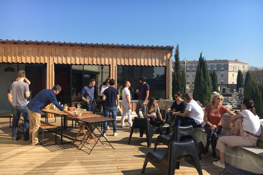 MOTA Coworking  Déjeuner en terrasse