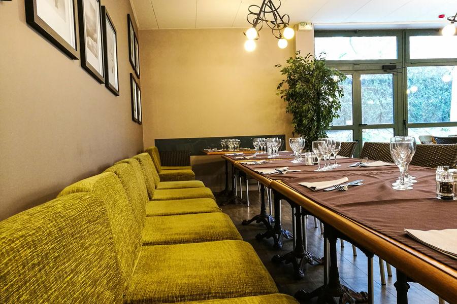 """ESPACE AURORE Salle de Restaurant """"  Le Bistrot des terres au curé"""""""
