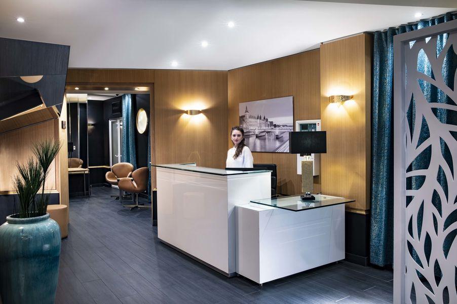 Hôtel Montparnasse Saint-Germain *** réception