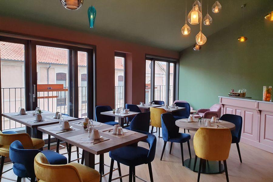 Grand Hôtel Dauphiné *** Salle de petit déjeuner