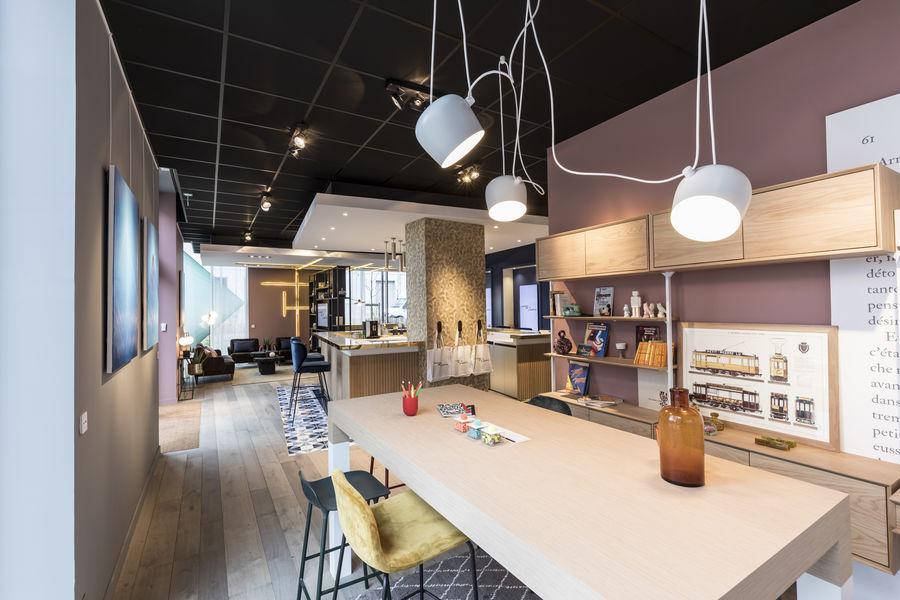 La Galerie QUARTUS Vue de l'espace Coworking