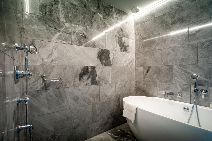 Château de Saulon **** salle de bain (grange)