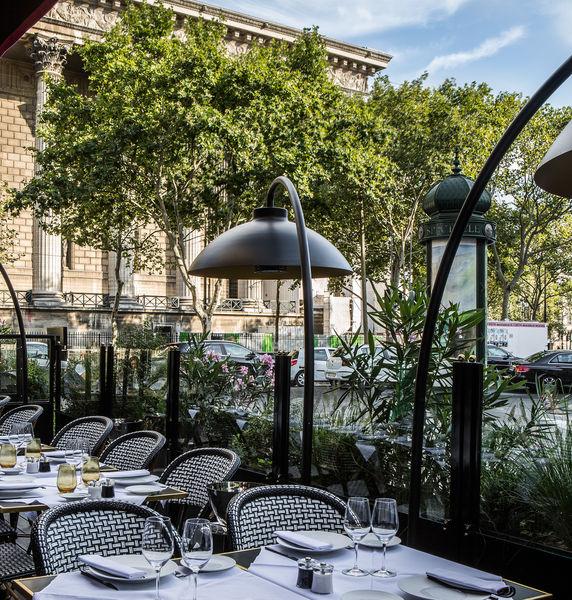 Fauchon L'Hôtel Paris ***** Terrasse Grand Café Fauchon