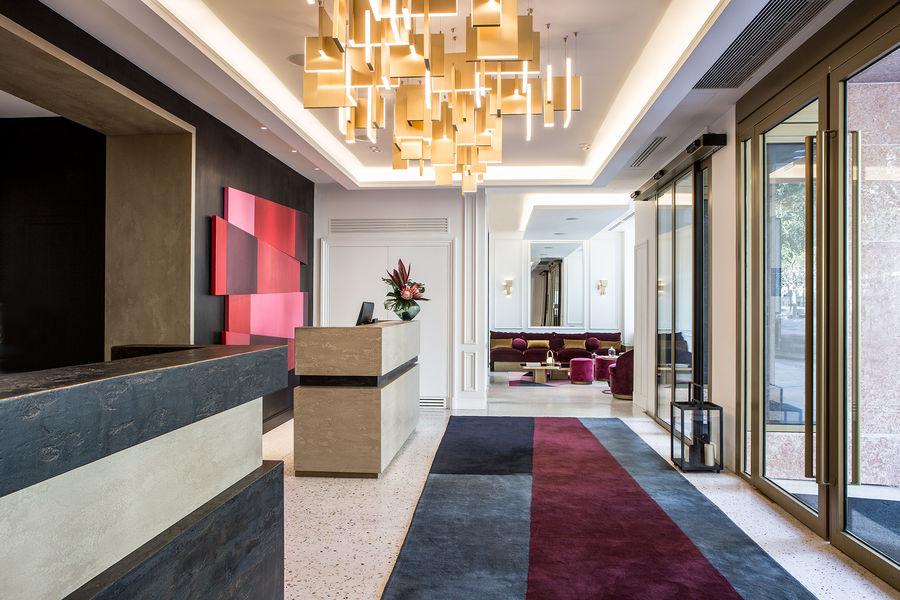 Fauchon L'Hôtel Paris ***** Réception Fauchon L'Hôtel Paris *****