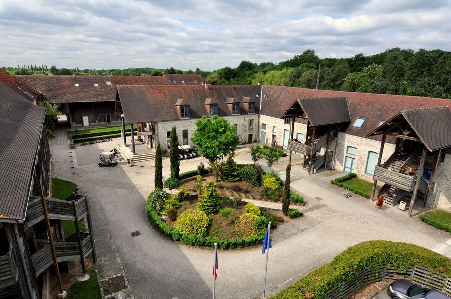 Hotel Abbaye du Golf Cour intérieure