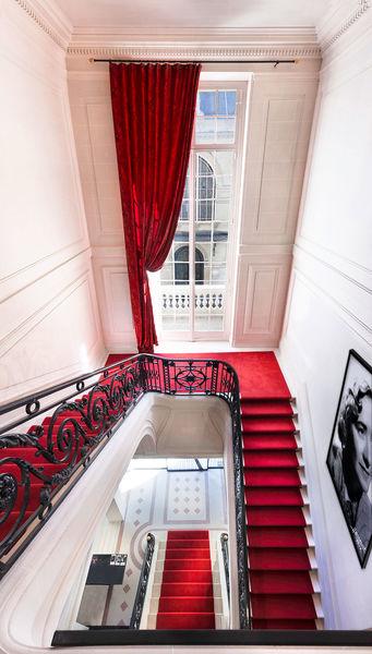Studio Harcourt Paris Escalier vue du haut