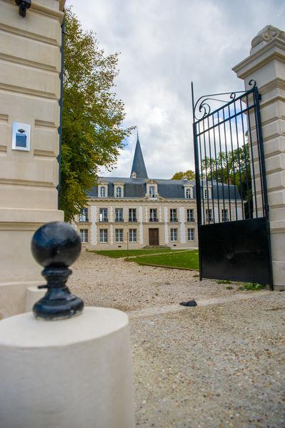 Château d'Hardricourt L'entrée du Château