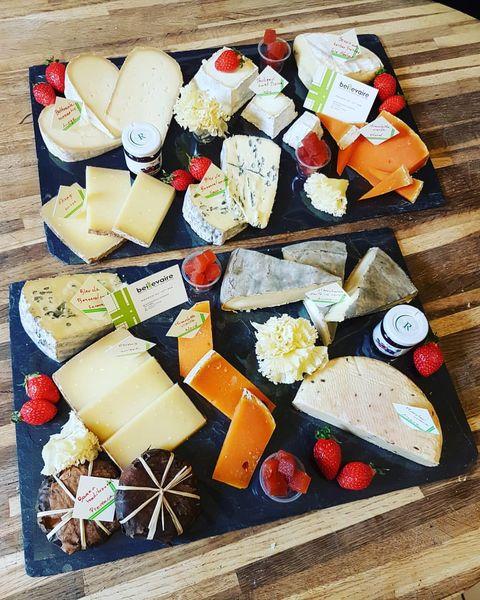 Village Les Rives de Grand Lieu plateau de fromage