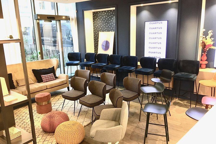 La Galerie QUARTUS Aménagement Salon 2 pour plénière (x25)